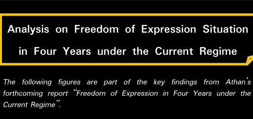 Analysis on Freedom of Expression Situation in Four Years under the Current Regime